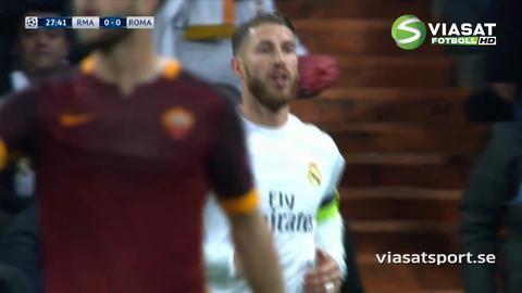 Höjdpunkt: Roma missar tre frilägen mot Real