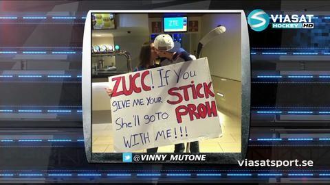 Höjdpunkt: Zuccarello hjälper kille med baldejt