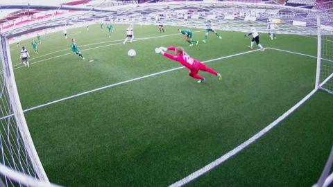 Höjdpunkter: ÖSK bäst i genrepet mot Hammarby - vann 2-1