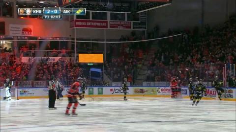 Jimmy Andersson skickar in 2-0 för Karlskrona