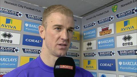 """Joe Hart: """"Man måste berömma Norwich"""""""