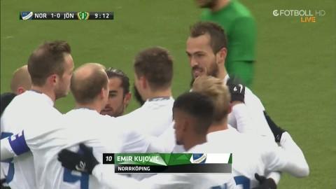 Kujovic bombar in 1-0 till Norrköping