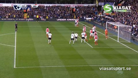 Mål: Alderweireld trycker in kvitteringen för Spurs (1-1)