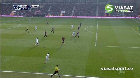Mål: Barrow sätter sitt första PL-mål (1-1)