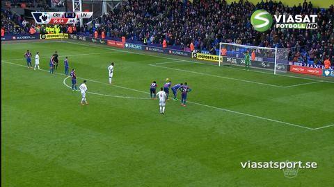 Mål: Benteke fullbordar Liverpools vändning i sista stund (1-2)