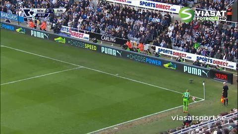 Mål: Defoe ger Sunderland ledningen i derbyt (0-1)
