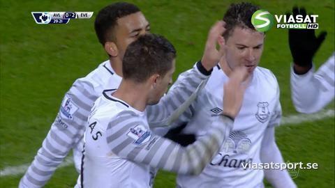 Mål: Everton utökar - Lennon nätar (0-2)