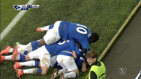 Mål: Everton utökar - Lennon nätar (2-0)