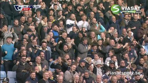 "Mål: Kane ger ""Spurs"" ledningen mot Villa (0-1)"