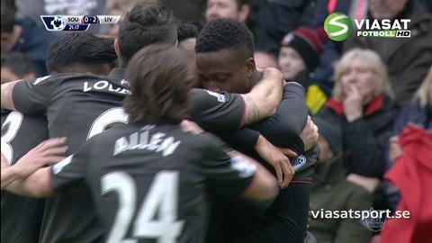 Mål: Liverpool utökar - Sturridge nätar (0-2)
