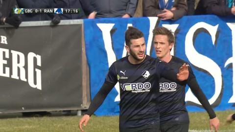 MÅL: Mikael Ishak gör 1-0 på IFK Göteborg