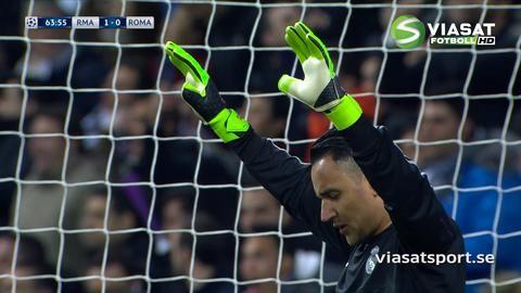Mål: Ronaldo öppnar målskyttet mot Roma (1-0)