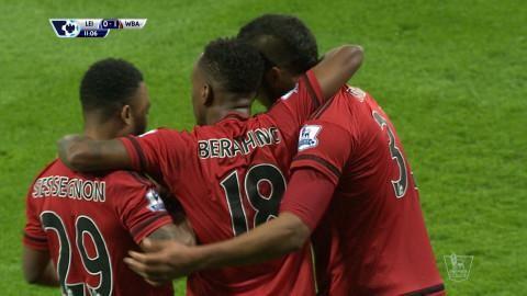 Mål: Rondon öppnar målskyttet mot Leicester (0-1)