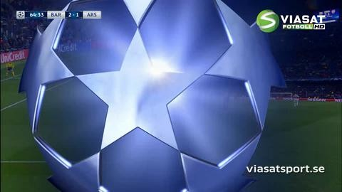 Mål: Suarez ger Barcelona ledningen med konstmål (2-1)