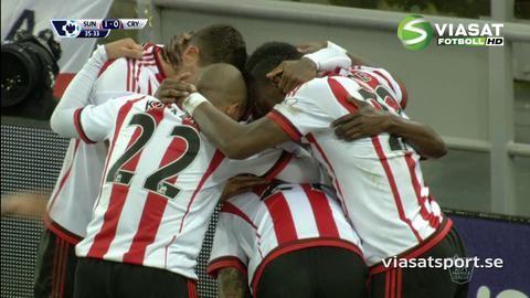 Mål: Sunderland tar ledningen genom N'Doye (1-0)