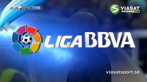 Mål: Tunga målvaktstabben som öppnar för Barcelona