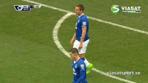 Mål: Welbeck spräcker nollan för Arsenal (0-1)
