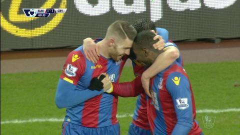 Mål: Wickham utjämnar för Palace (1-1)