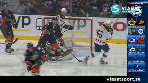 Sammandrag: Anaheim-Boston 4-0
