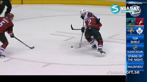 Sammandrag: Arizona - San Jose 3-1