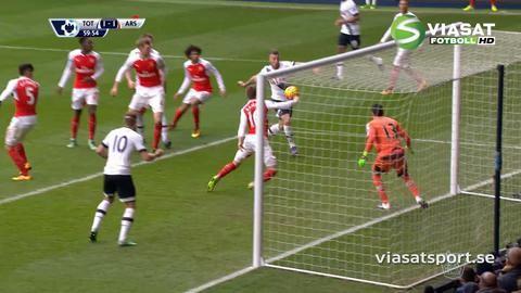 Sammandrag: Arsenal räddade poäng med tio man