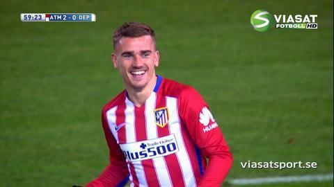 Sammandrag: Atletico sänkte formsvagt Deportivo