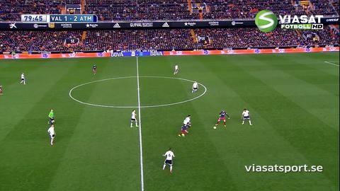 Sammandrag: Atleticos prestigeseger i Valencia