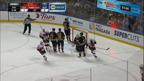 Sammandrag: Buffalo-Calgary: 6-3