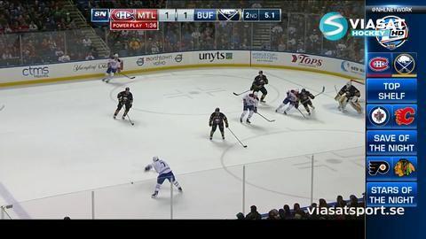 Sammandrag: Buffalo - Montreal 2-3 (OT)