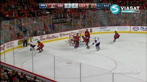 Sammandrag: Calgary-Arizona: 1-4