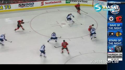 Sammandrag: Calgary - Winnipeg 4-1