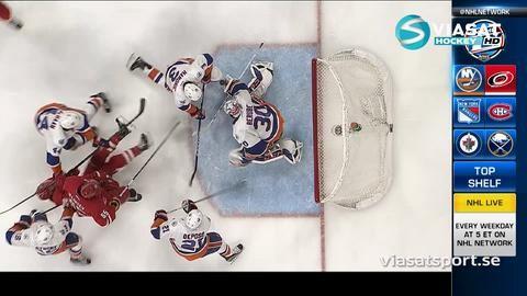 Sammandrag: Carolina - NY Islanders 3-4 (OT)