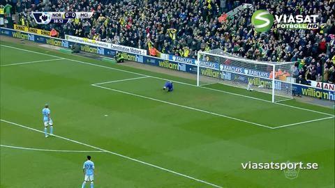 Sammandrag: City fick inte med sig poäng borta mot Norwich