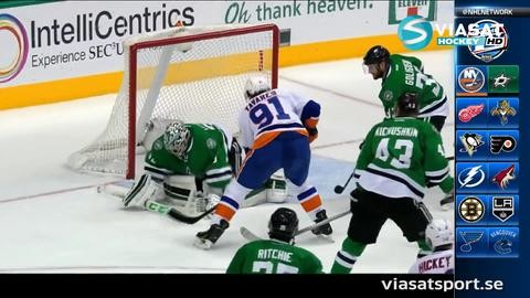 Sammandrag: Dallas-NY Islanders 3-0