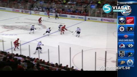 Sammandrag: Detroit-Buffalo: 3-2