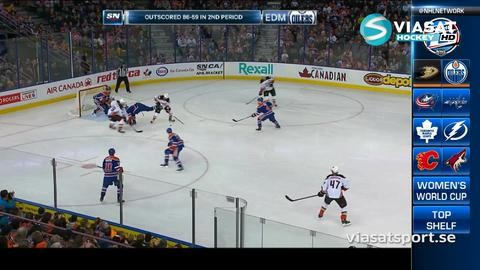 Sammandrag: Edmonton-Anaheim: 1-2