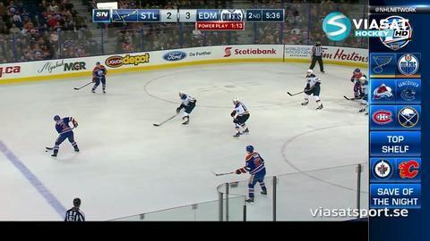 Sammandrag: Edmonton - St. Louis 6-4