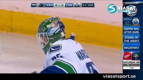 Sammandrag: Edmonton-Vancouver 2-0