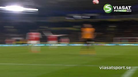Sammandrag: Giroud och Walcott tvåmålsskyttar när Arsenal segrade