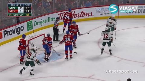 Sammandrag: Montreal-Minnesota: 1-4