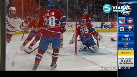 Sammandrag: Montreal - NY Rangers 2-5