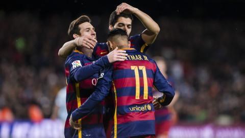 "Sammandrag: ""MSN"" tog Barcelona vidare i Champions League"