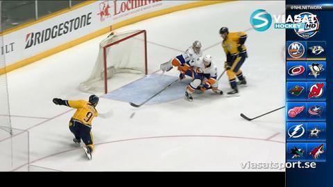 Sammandrag: Nashville - NY Islanders 4-2