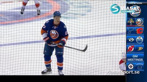 Sammandrag: NY Islanders - Florida 3-2