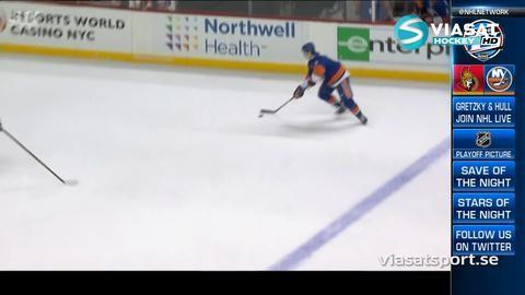 Sammandrag: NY Islanders-Ottawa (3-1)