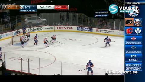 Sammandrag: NY Islanders-Philadelphia (1-4)