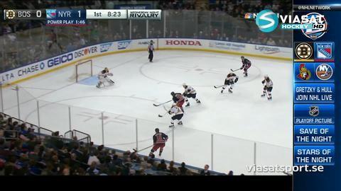 Sammandrag: NY Rangers-Boston (5-2)