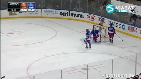 Sammandrag: NY Rangers-NY Islanders 4-6