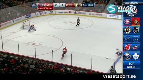 Sammandrag: Ottawa-Montreal 5-0