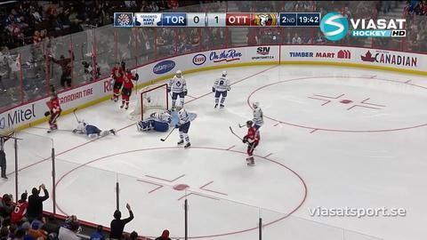 Sammandrag: Ottawa-Toronto: 4-0